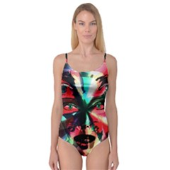 Abstract Girl Camisole Leotard  by Valentinaart