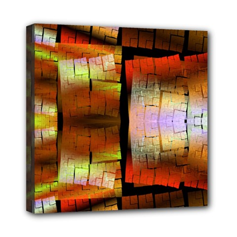 Fractal Tiles Mini Canvas 8  X 8  by Simbadda
