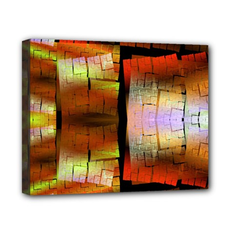 Fractal Tiles Canvas 10  X 8  by Simbadda