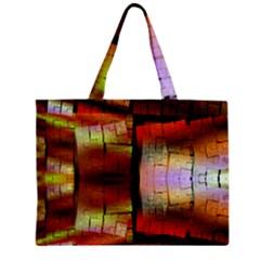 Fractal Tiles Zipper Mini Tote Bag by Simbadda