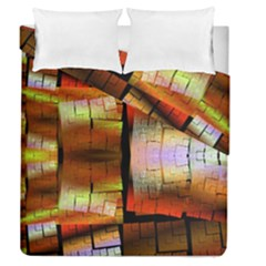 Fractal Tiles Duvet Cover Double Side (queen Size) by Simbadda