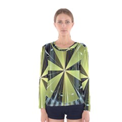 Fractal Ball Women s Long Sleeve Tee