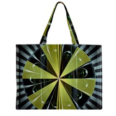 Fractal Ball Zipper Mini Tote Bag