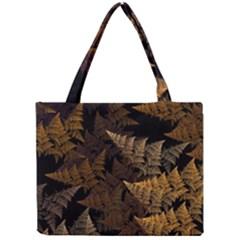Fractal Fern Mini Tote Bag by Simbadda