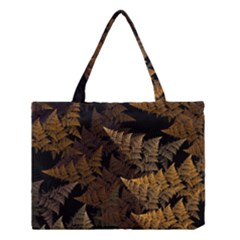 Fractal Fern Medium Tote Bag by Simbadda