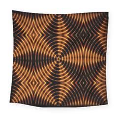 Fractal Patterns Square Tapestry (large) by Simbadda