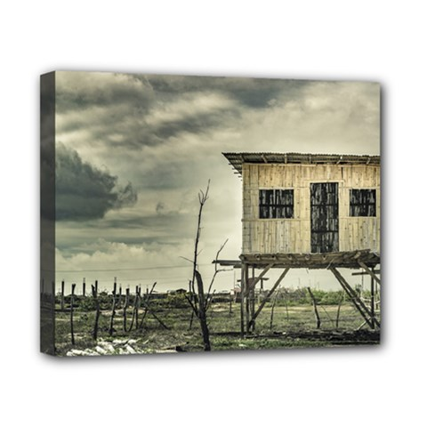 Traditional Cane House At Guayas District Ecuador Canvas 10  X 8  by dflcprints