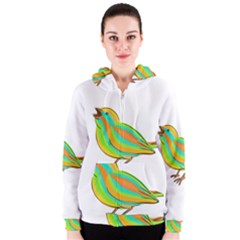Bird Women s Zipper Hoodie by Valentinaart