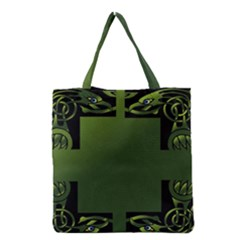 Celtic Corners Grocery Tote Bag by Simbadda