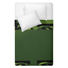 Celtic Corners Duvet Cover Double Side (single Size) by Simbadda