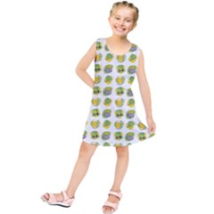 St Patrick S Day Background Symbols Kids  Tunic Dress by Simbadda