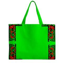 Decorative Corners Zipper Mini Tote Bag by Simbadda