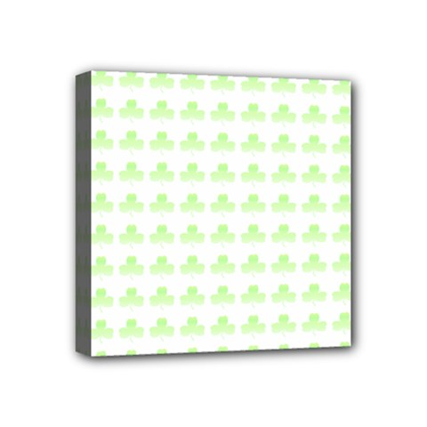 Shamrock Irish St Patrick S Day Mini Canvas 4  X 4  by Simbadda