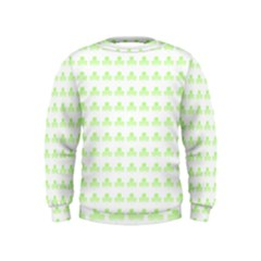Shamrock Irish St Patrick S Day Kids  Sweatshirt