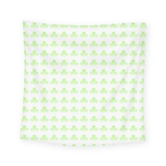 Shamrock Irish St Patrick S Day Square Tapestry (small) by Simbadda