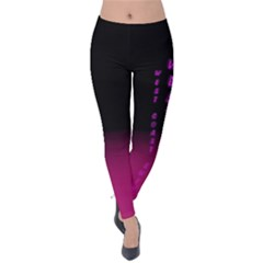Wcs   Pink Purple Velvet Leggings