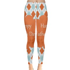 happy Father Day  Classic Winter Leggings by Simbadda