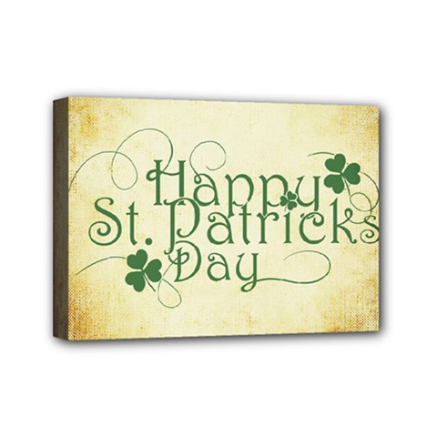 Irish St Patrick S Day Ireland Mini Canvas 7  X 5  by Simbadda
