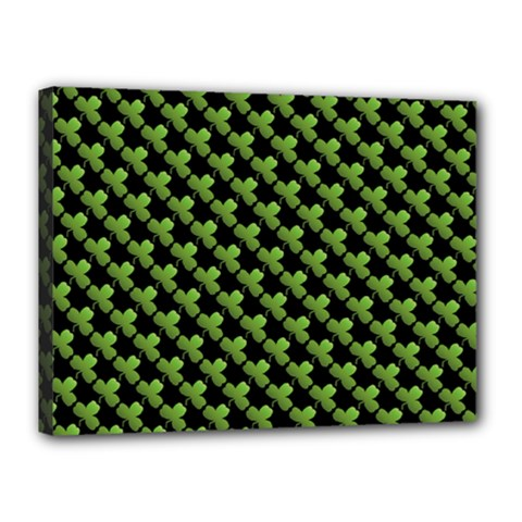 St Patrick S Day Background Canvas 16  X 12  by Simbadda