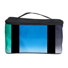 Colorful Background Squares Cosmetic Storage Case by Simbadda