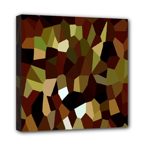 Crystallize Background Mini Canvas 8  X 8  by Simbadda