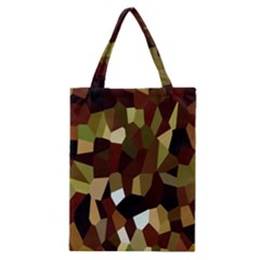 Crystallize Background Classic Tote Bag by Simbadda