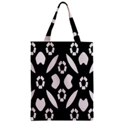 Abstract Background Pattern Zipper Classic Tote Bag by Simbadda