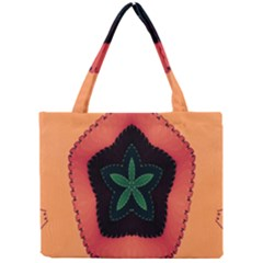 Fractal Flower Mini Tote Bag