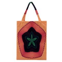 Fractal Flower Classic Tote Bag