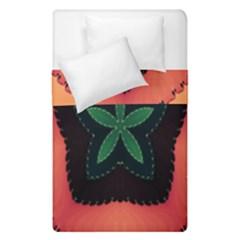 Fractal Flower Duvet Cover Double Side (Single Size)