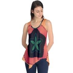Fractal Flower Sleeveless Tunic