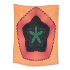 Fractal Flower Medium Tapestry