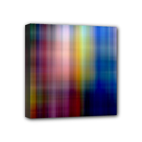 Colorful Abstract Background Mini Canvas 4  X 4  by Simbadda