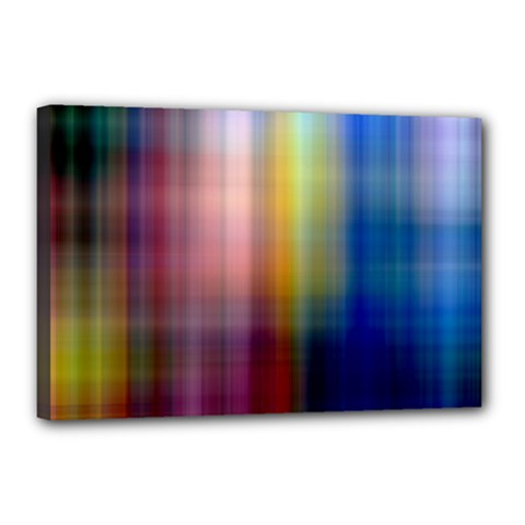 Colorful Abstract Background Canvas 18  X 12  by Simbadda