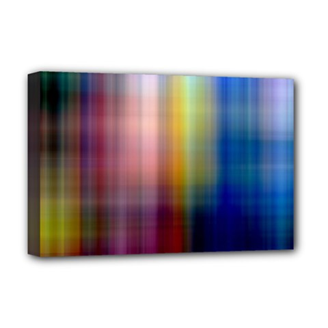 Colorful Abstract Background Deluxe Canvas 18  X 12   by Simbadda