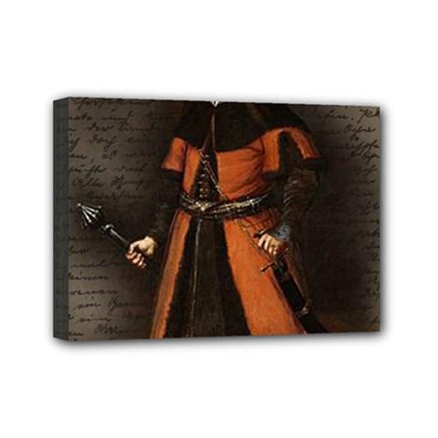 Count Vlad Dracula Mini Canvas 7  X 5  by Valentinaart
