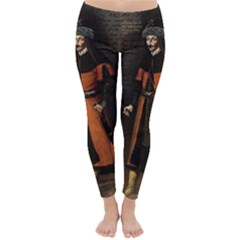 Count Vlad Dracula Classic Winter Leggings by Valentinaart