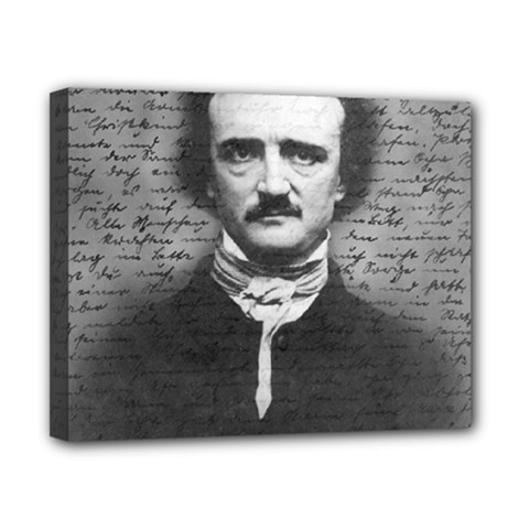 Edgar Allan Poe  Canvas 10  X 8  by Valentinaart