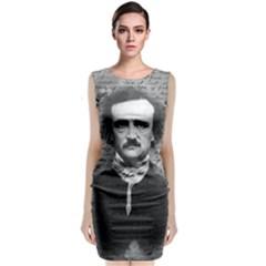 Edgar Allan Poe  Classic Sleeveless Midi Dress by Valentinaart