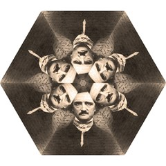 Edgar Allan Poe  Mini Folding Umbrellas by Valentinaart
