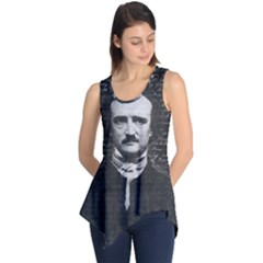 Edgar Allan Poe  Sleeveless Tunic by Valentinaart