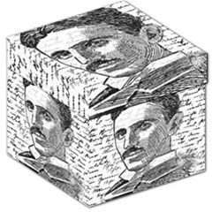Nikola Tesla Storage Stool 12   by Valentinaart