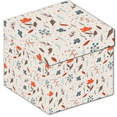 Seamless Floral Patterns  Storage Stool 12   by TastefulDesigns