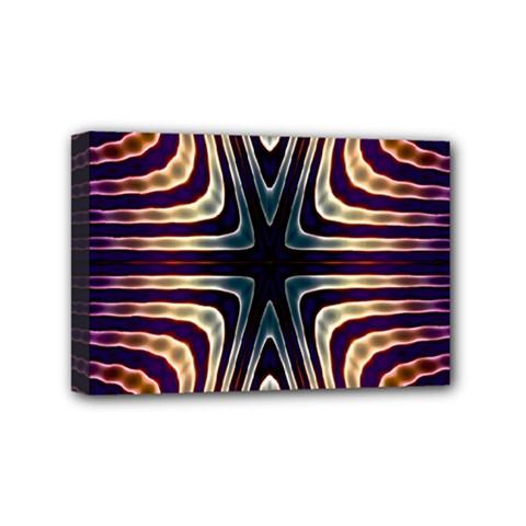 Colorful Seamless Vibrant Pattern Mini Canvas 6  X 4  by Simbadda