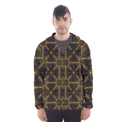 Seamless Symmetry Pattern Hooded Wind Breaker (men) by Simbadda