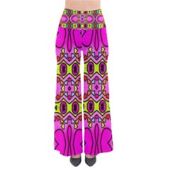 Love Hearths Colourful Abstract Background Design Pants by Simbadda