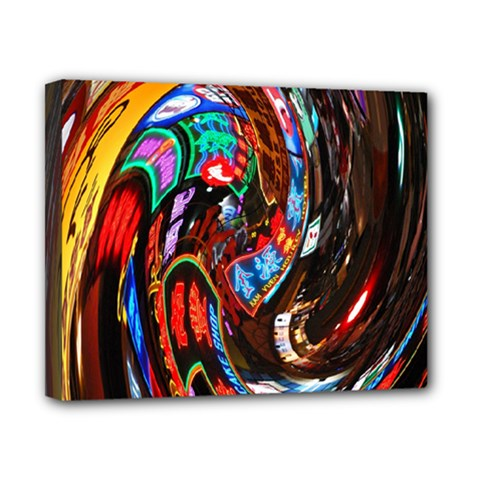 Abstract Chinese Inspired Background Canvas 10  X 8  by Simbadda