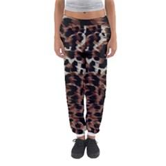 Background Fabric Animal Motifs Women s Jogger Sweatpants