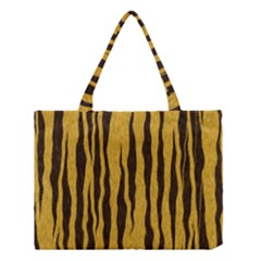Seamless Fur Pattern Medium Tote Bag by Simbadda