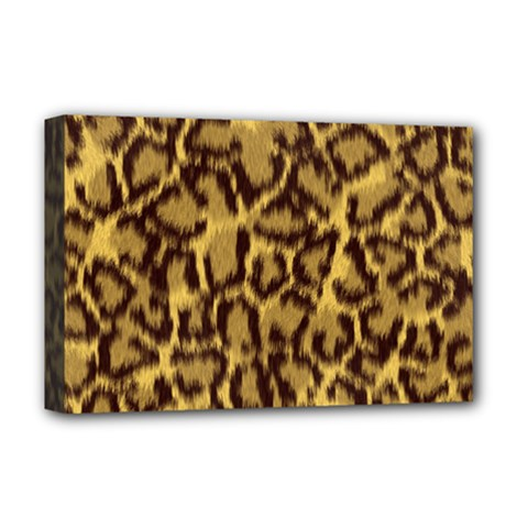 Seamless Animal Fur Pattern Deluxe Canvas 18  x 12